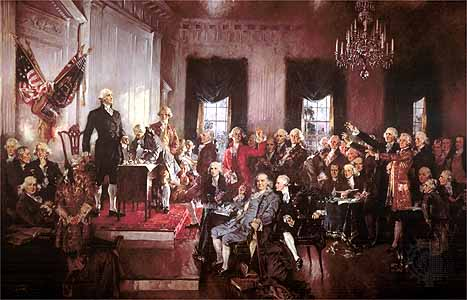 Picture of US Constitution Convention